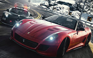 Wallpapers Need for Speed The Rivalry Begins Cars 3D_Graphics