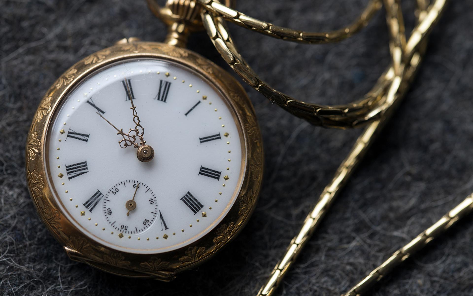 Bilder Taschenuhr Uhr Zifferblatt Großansicht 1920x1200 hautnah Nahaufnahme