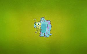 Papéis de parede Monsters University Desenho vetorial