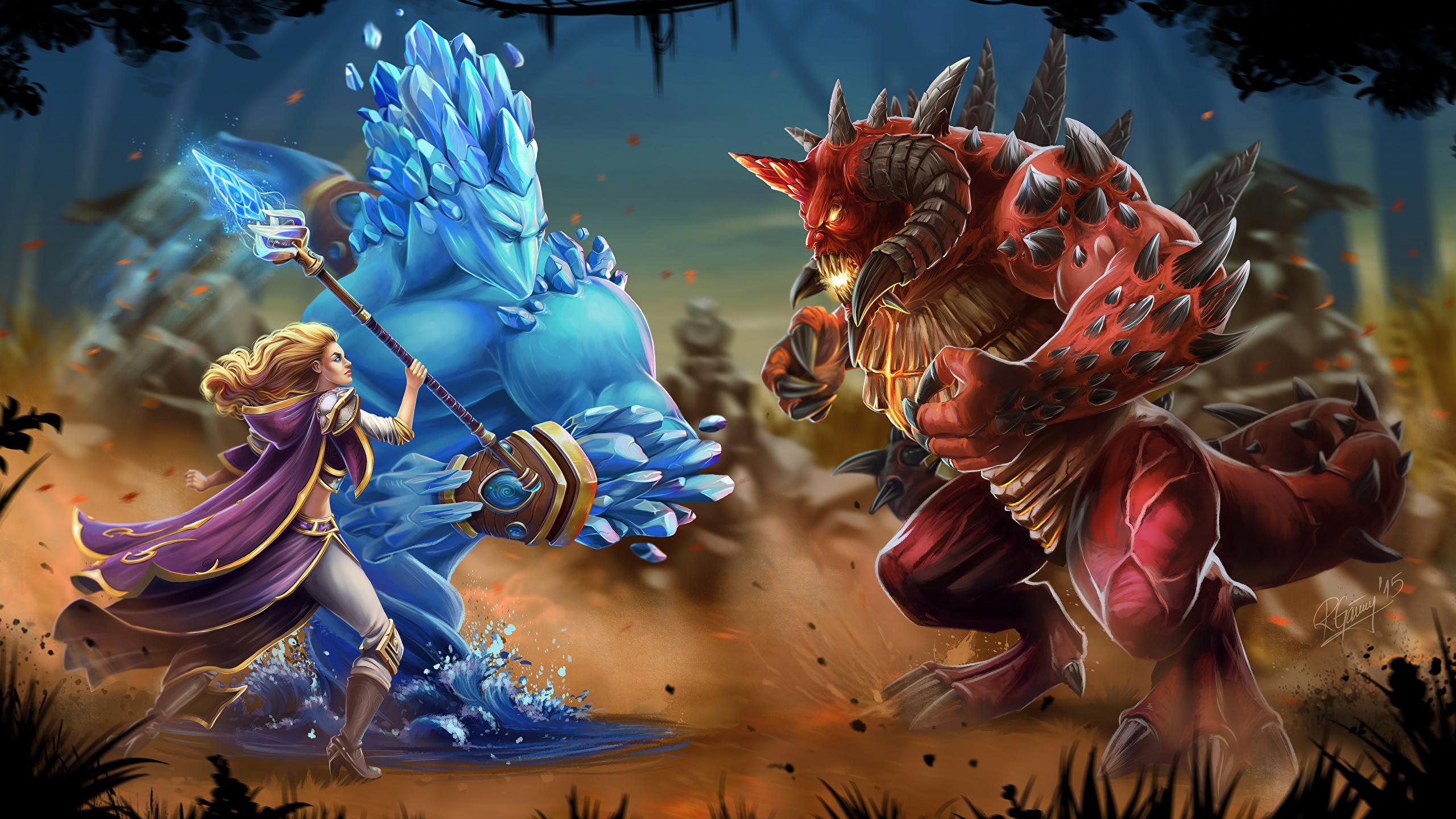 Fondos De Pantalla 2560x1440 Heroes Of The Storm Diablo
