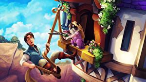 Hintergrundbilder Rapunzel – Neu verföhnt