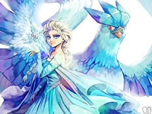 Hintergrundbilder Disney Die Eiskönigin – Völlig unverfroren Elsa Animationsfilm