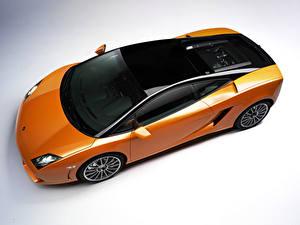 Hintergrundbilder Lamborghini Tuning Orange Von oben Metallisch 2011 Gallardo LP560-4 Bicolore Autos