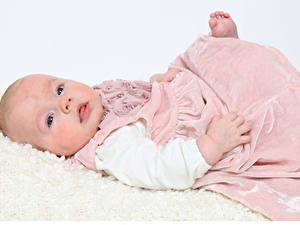 Fonds d'écran Petites filles Les robes Enfants