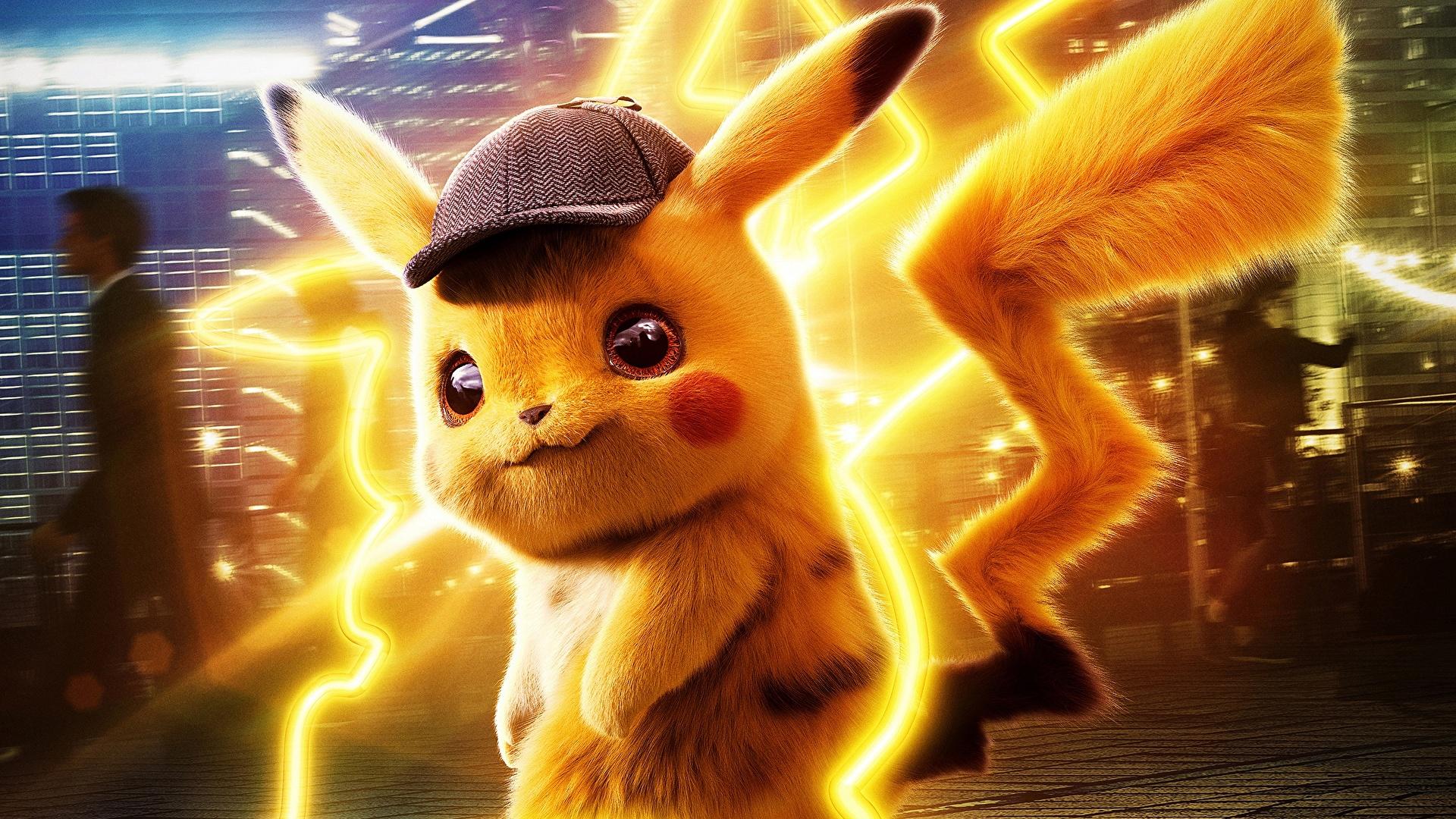Fonds D Ecran 1920x1080 Pokemon Detective Pikachu