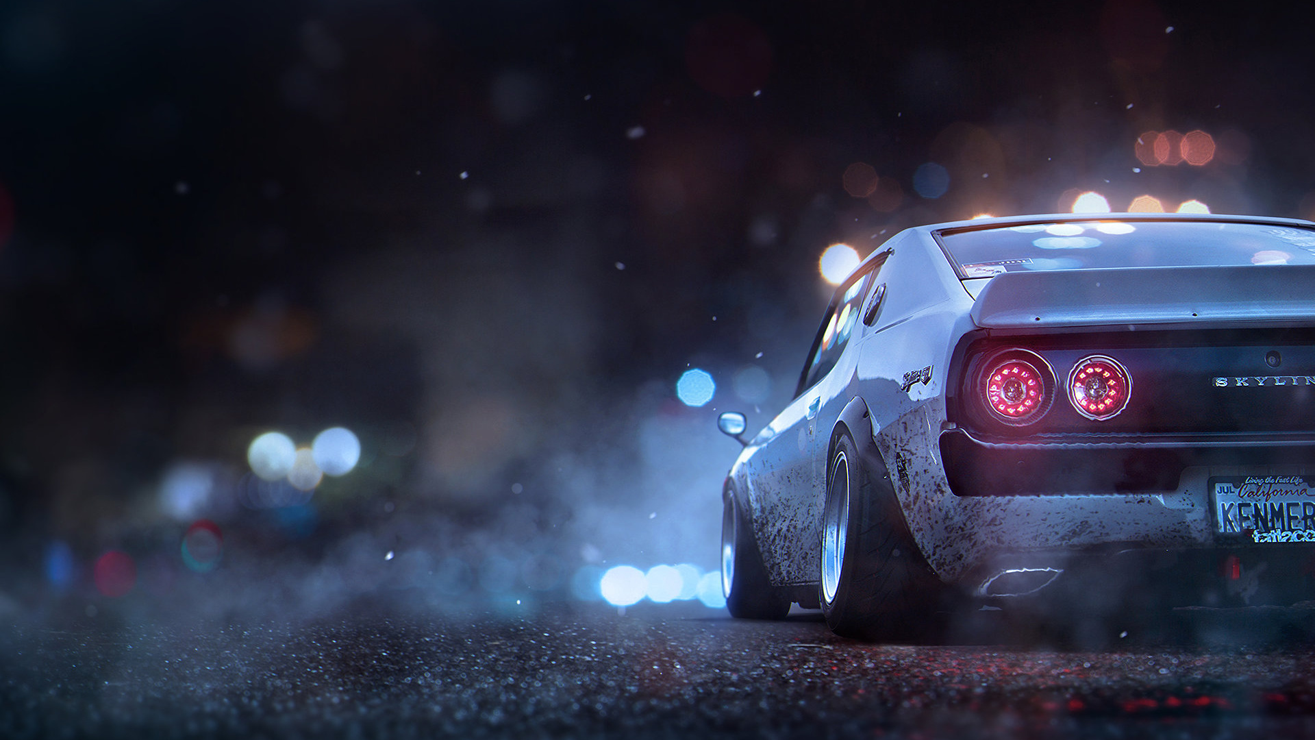 Wallpaper Nissan Skyline Concept Artist At Ea Ghost Games 1920x1080