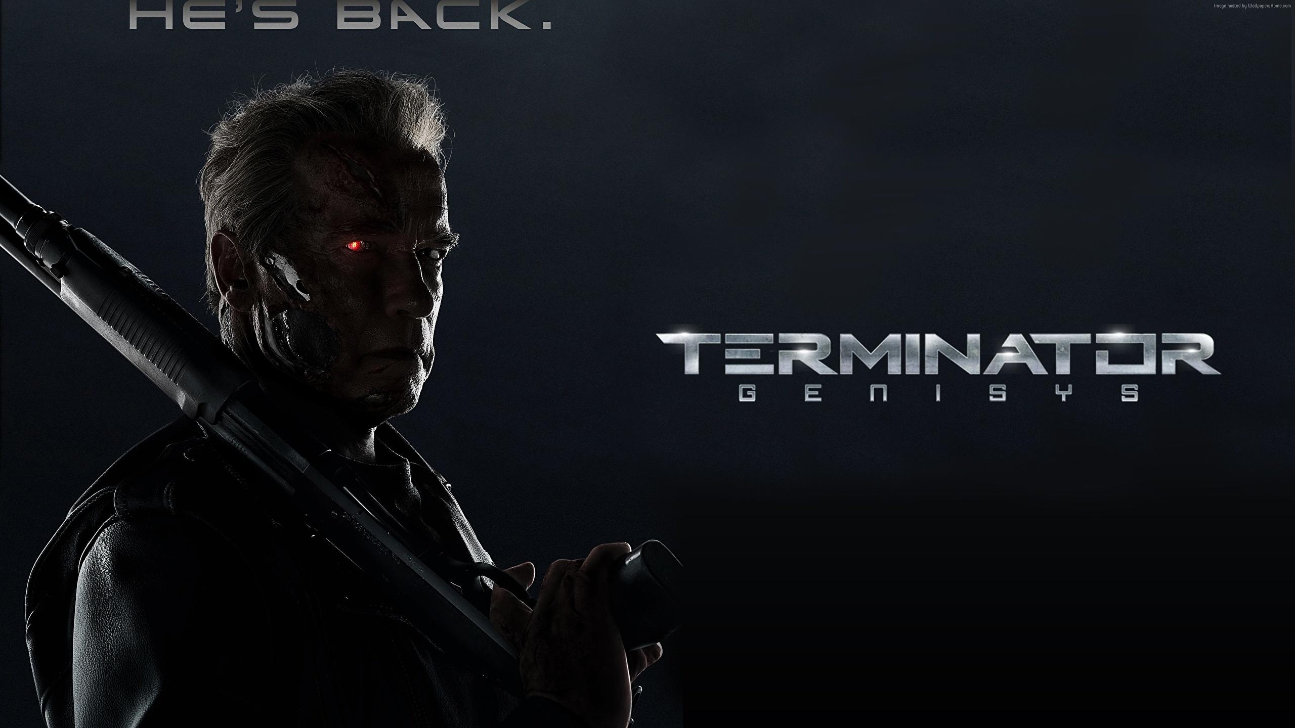 Fonds Decran 2560x1440 Terminator Genisys Arnold