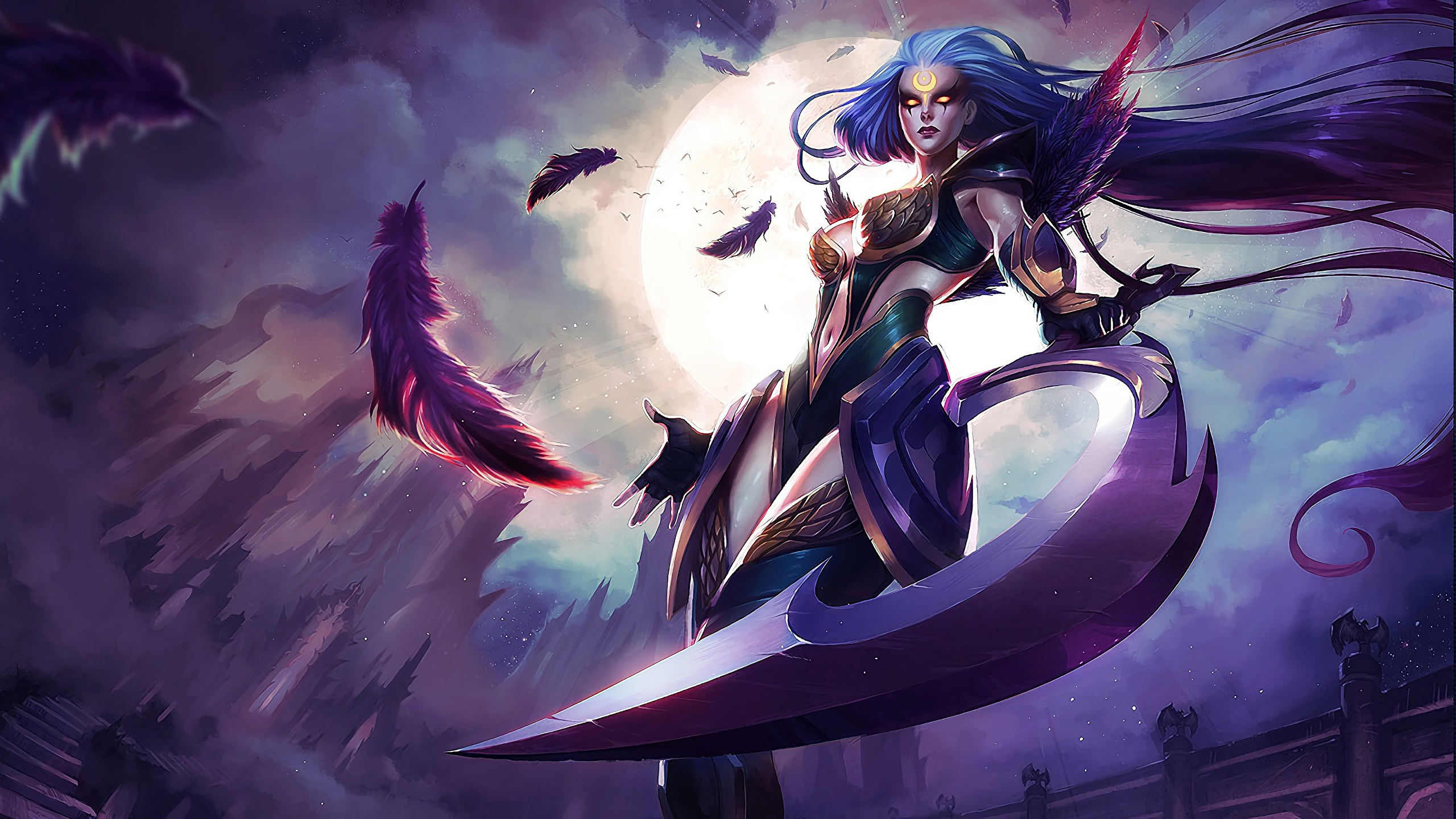 Fondos De Pantalla 2560x1440 Guerrero League Of Legends
