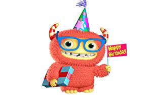 Hintergrundbilder Die Monster AG Feiertage Geburtstag 3D-Grafik