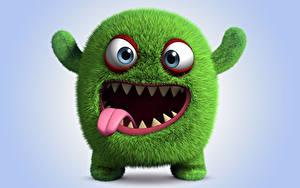 Hintergrundbilder Die Monster AG 3D-Grafik