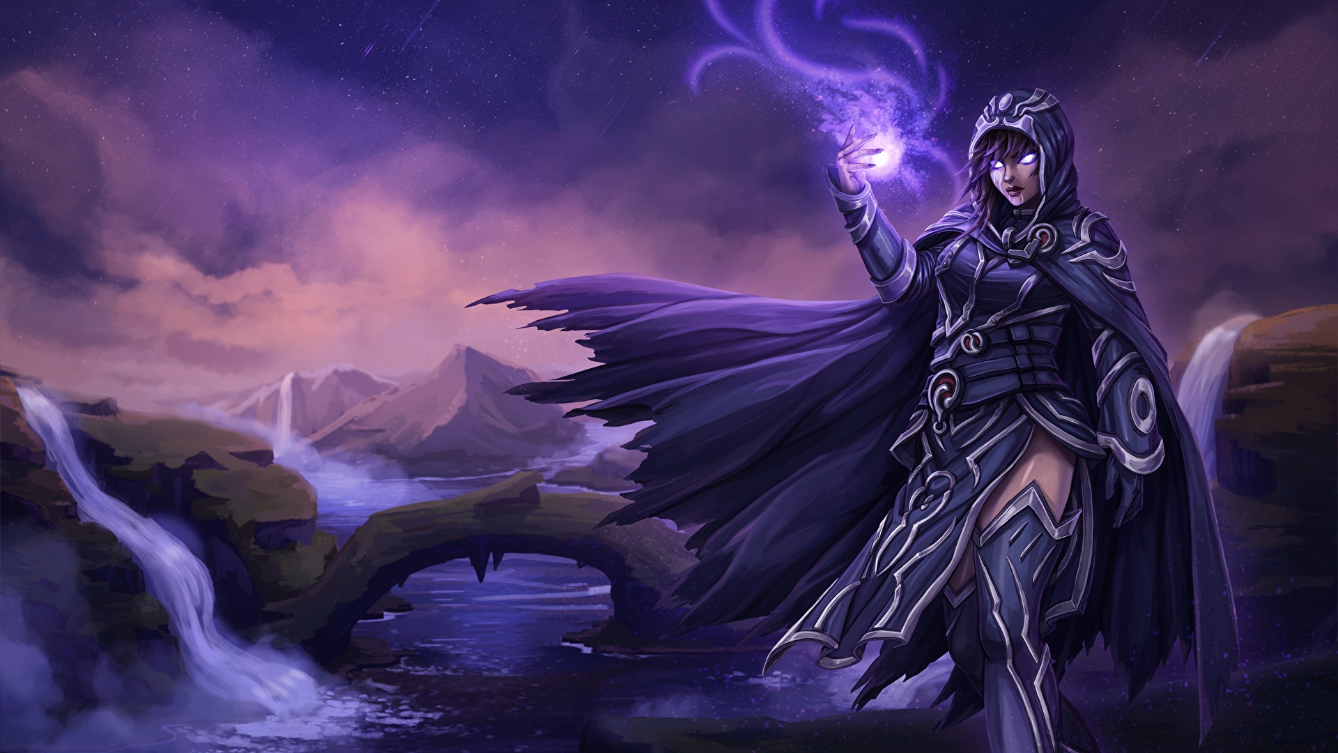 Picture Magic The Gathering Magic Magician Fanart Female 1920x1080