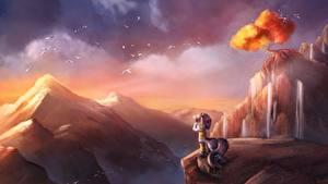 Hintergrundbilder My Little Pony Gebirge Animationsfilm