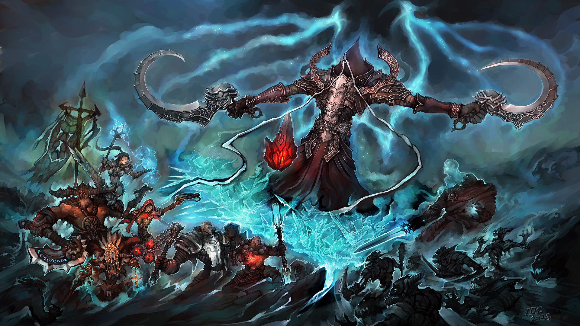 Photo Diablo 3 Angel Of Death Malthael Reaper Of Souls 1920x1080