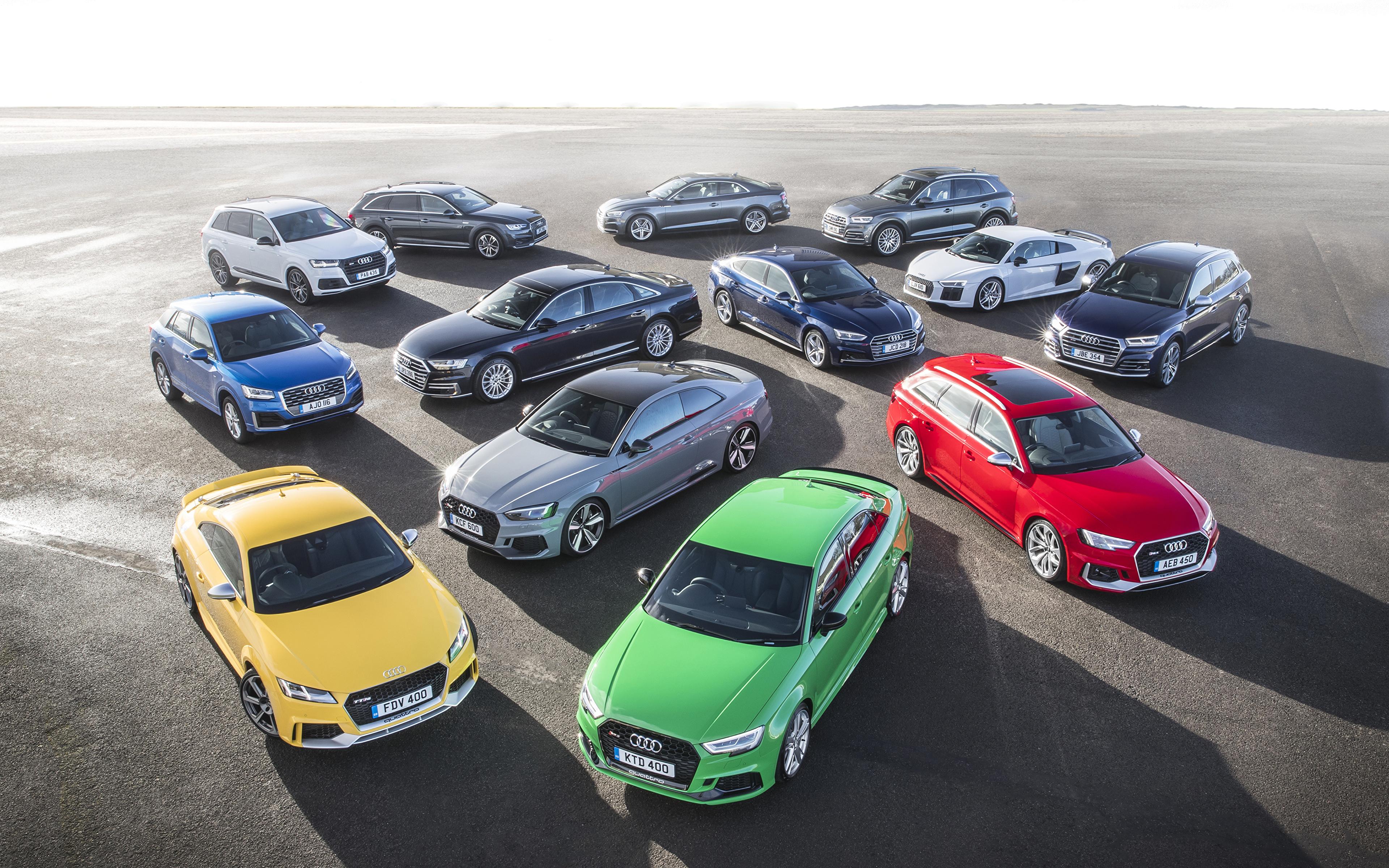 Audi Dealers Near Me >> Wallpaper Audi Cars Many 3840x2400