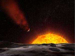 Hintergrundbilder Asteroiden Stern Sonne Kosmos