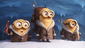 Bilder Minions Schnee Brille movie 2015 Fantasy