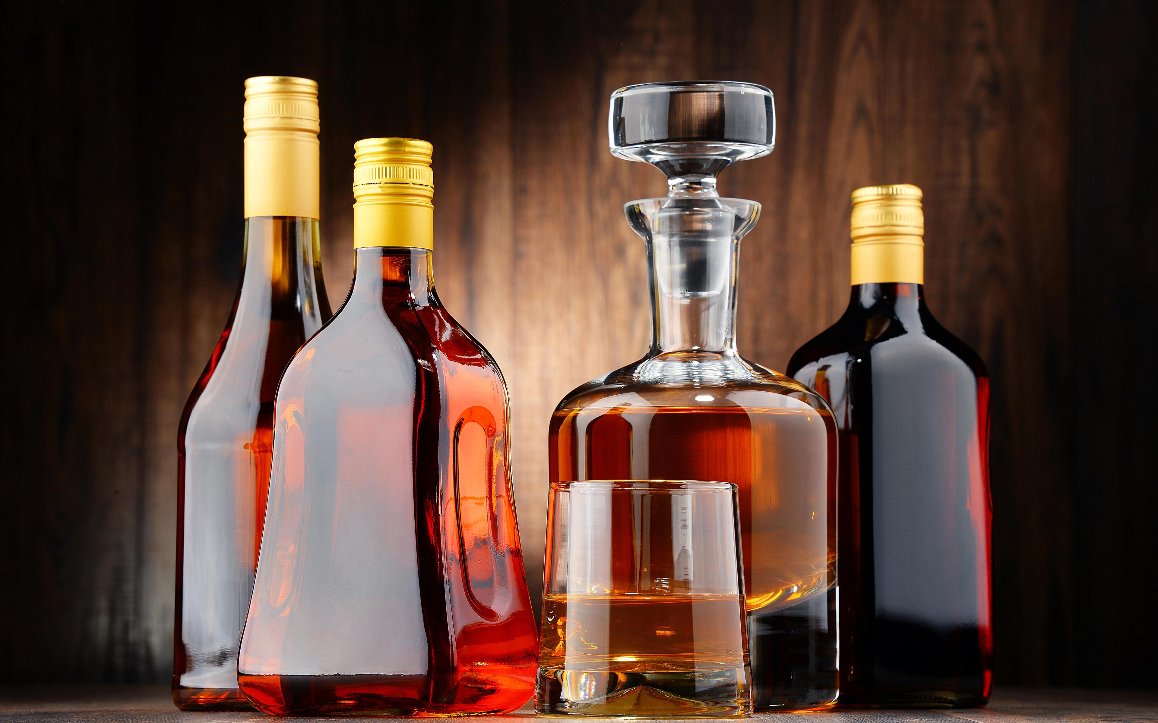 Bilder von Flasche Lebensmittel Getränke 3840x2400 flaschen
