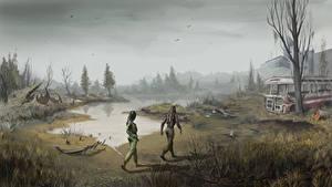 Fotos S.T.A.L.K.E.R. Call of Pripya Sumpf Spiele Fantasy