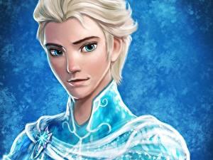 Bilder Gezeichnet Die Eiskönigin – Völlig unverfroren Junger Mann Starren Gesicht Frozen, Erland, The Ice King of Arendelle Animationsfilm