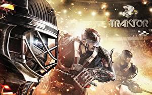 Images Hockey Men Helmet traktor 2014/15