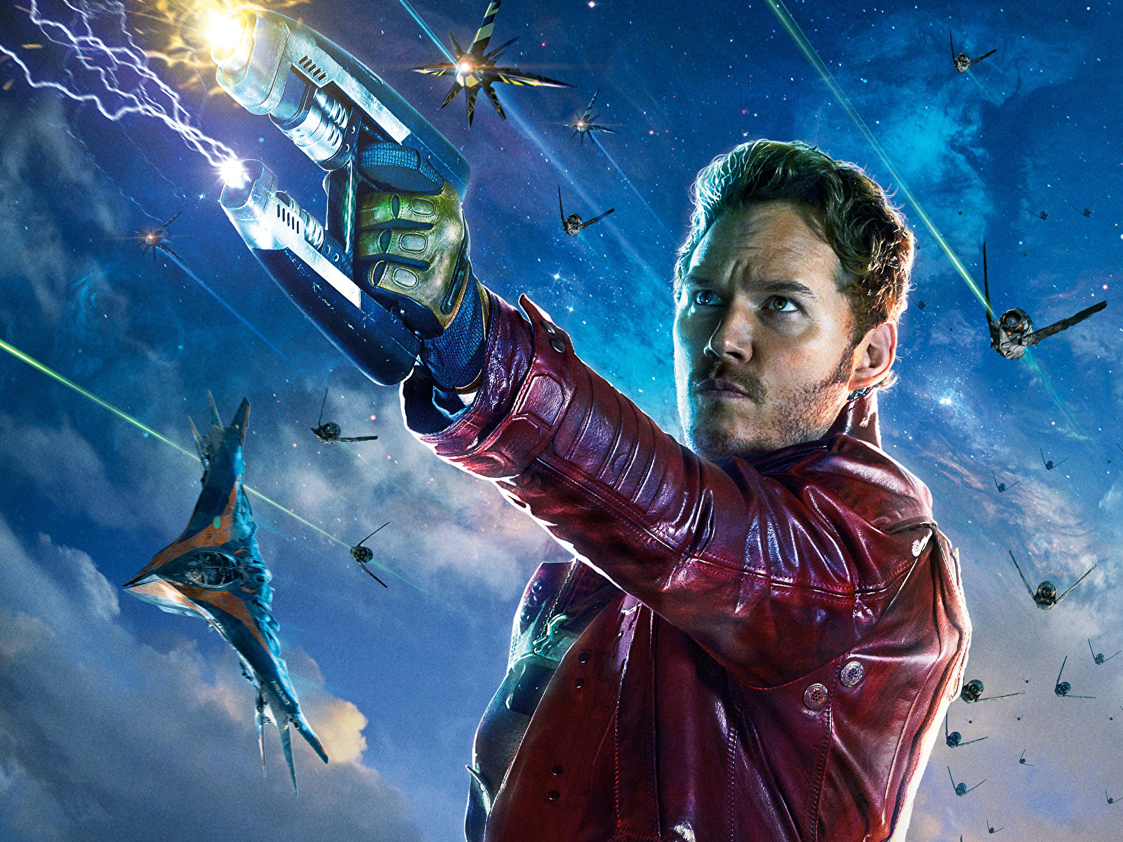 Wallpaper Man Warriors Guardians Of The Galaxy Star Lord