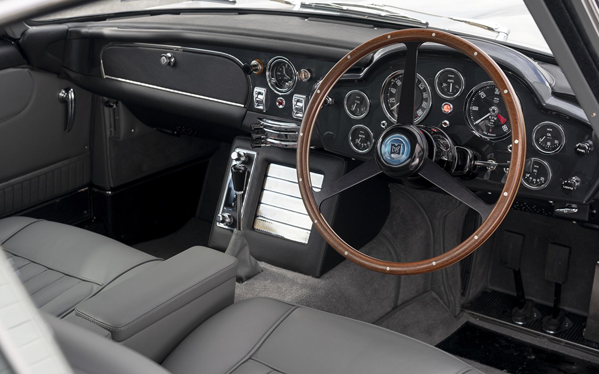 Bilde Salons Aston Martin Bil ratt DB5 Goldfinger Continuation, 2020 Biler 1920x1200 bil automobil