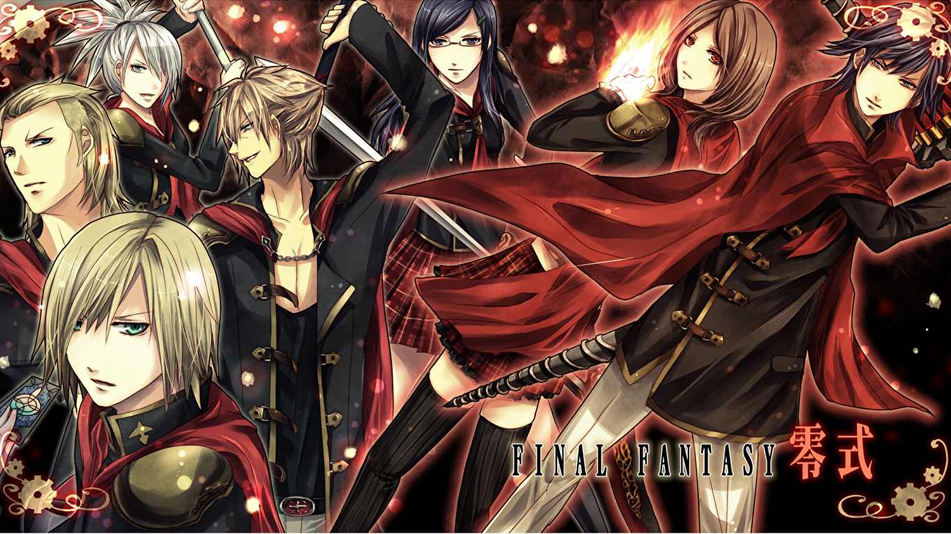 Images Final Fantasy Final Fantasy Type 0 Vdeo Game 1366x768