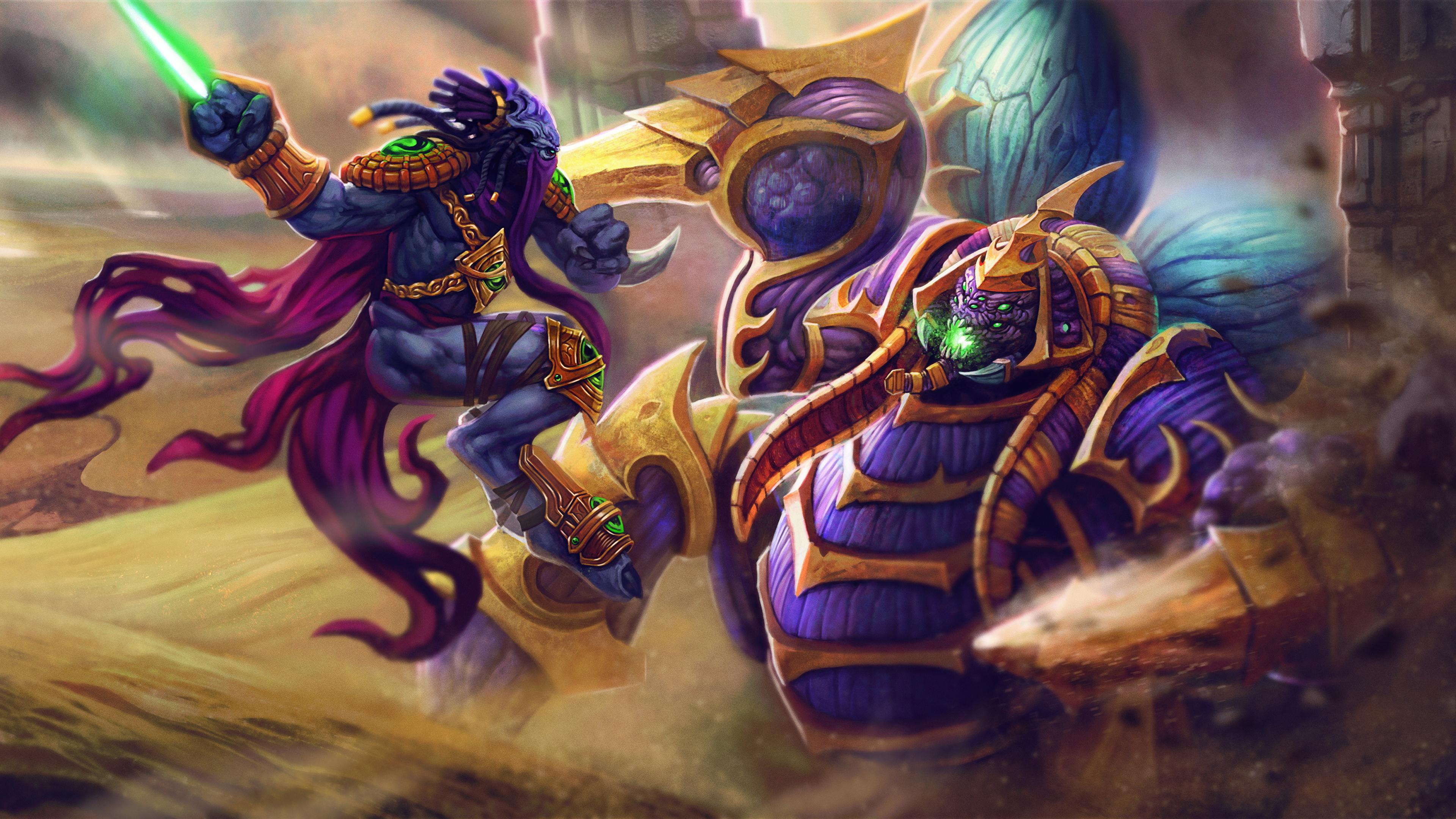 Fondos De Pantalla 3840x2160 Heroes Of The Storm Guerrero