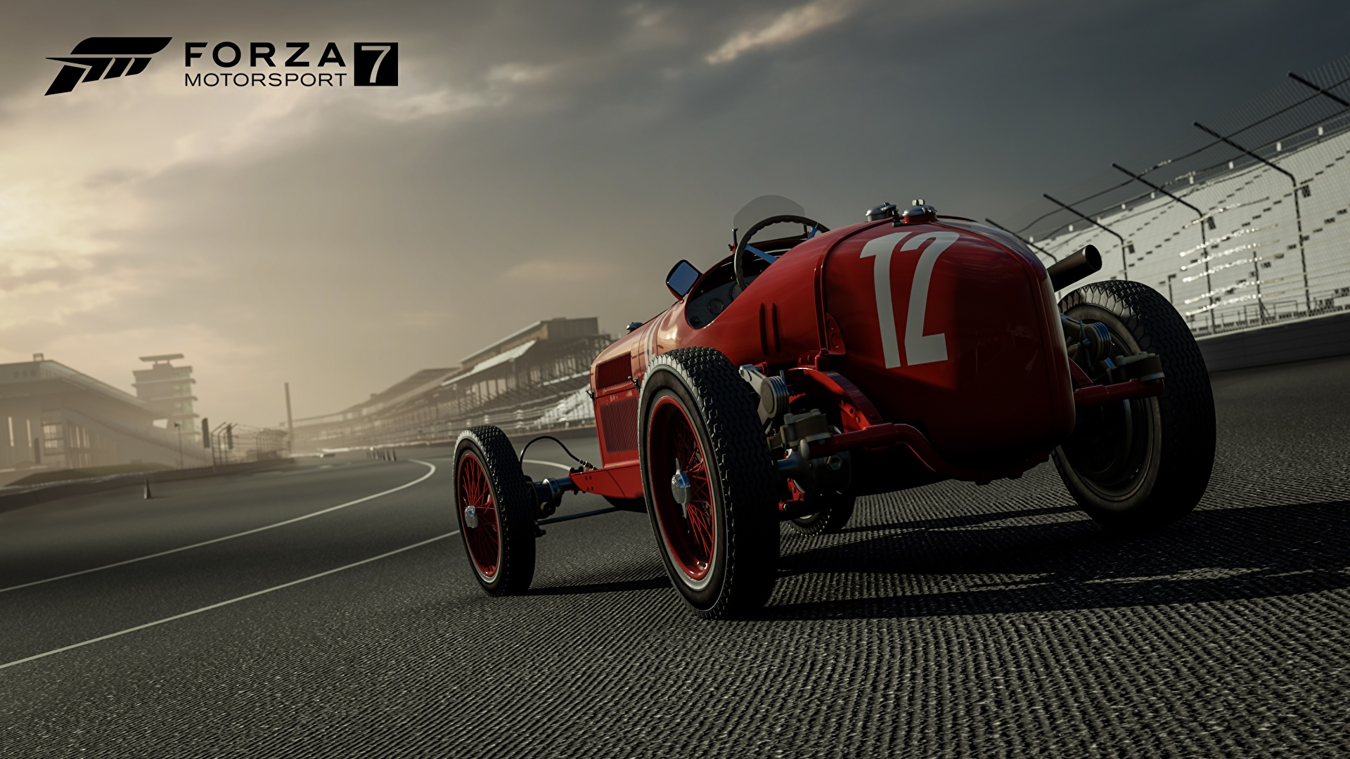 Desktop Wallpapers Forza Motorsport 7 Rallying Red Vdeo 1920x1080