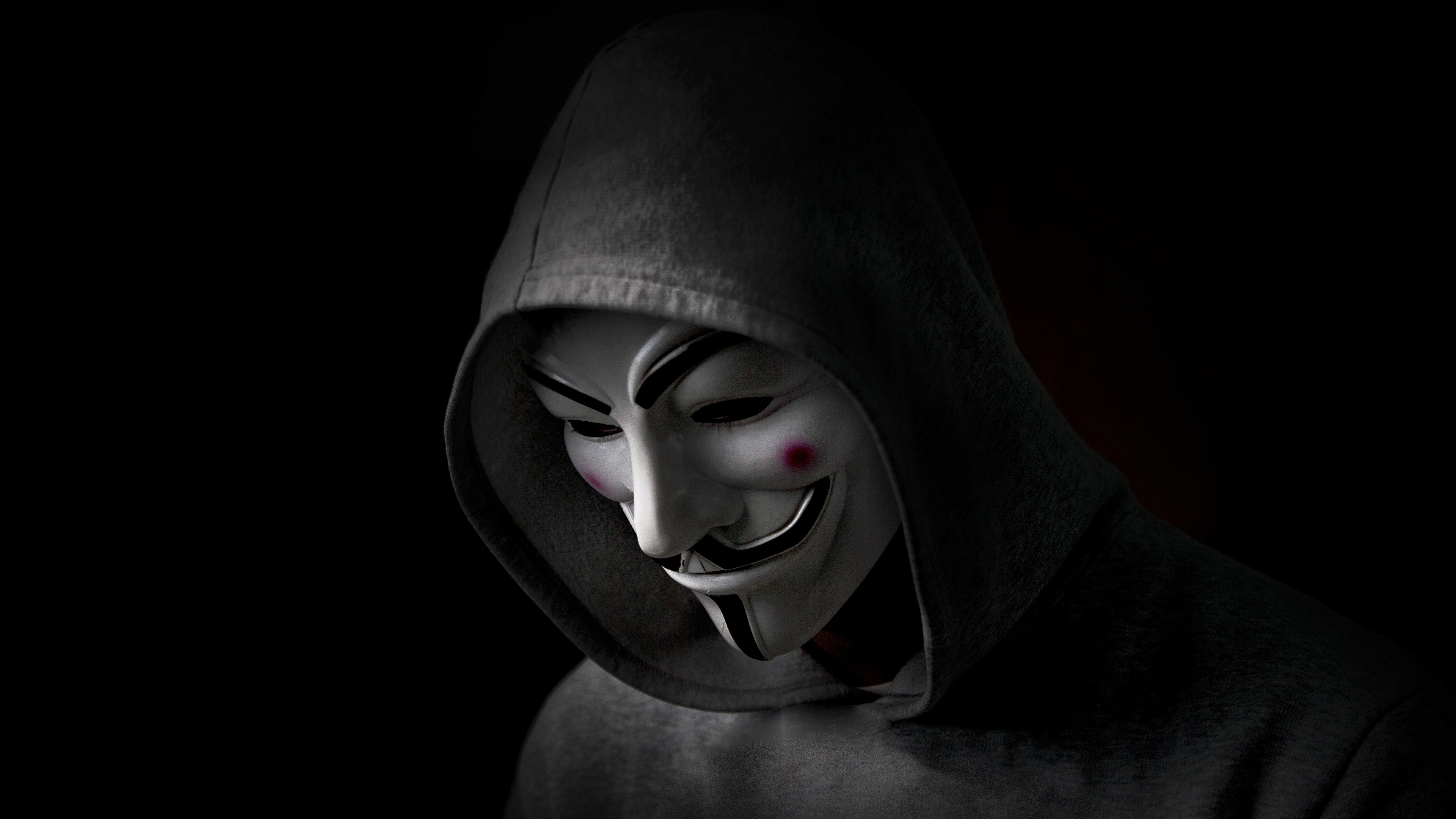 Images V For Vendetta Film Masks Hood Headgear Black 3840x2160
