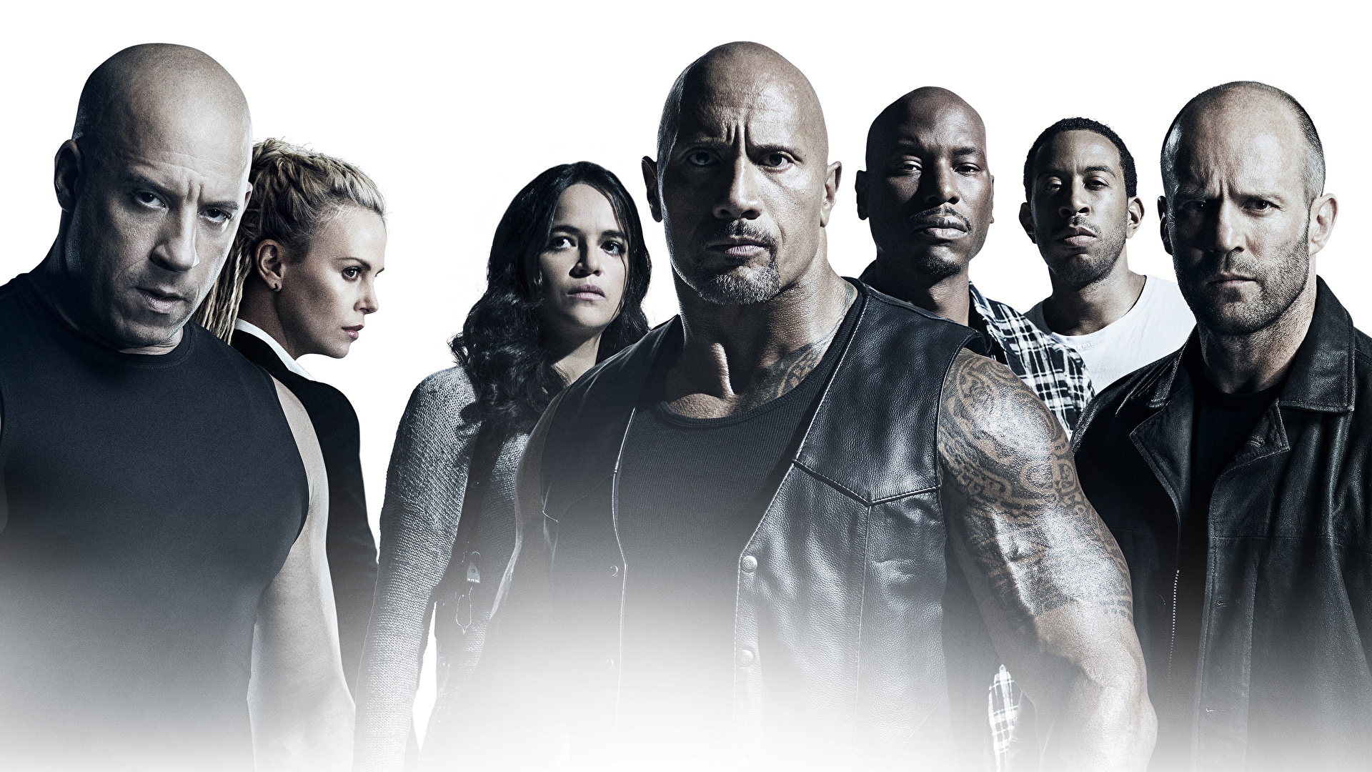 Photo The Fate Of The Furious Vin Diesel Jason Statham 1920x1080