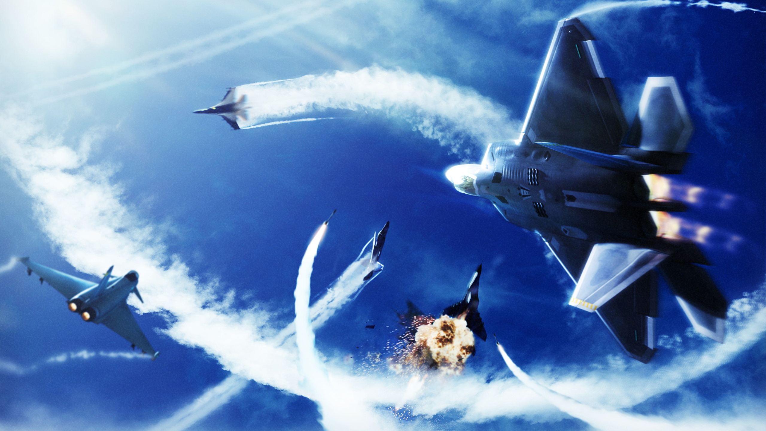 Desktop Wallpapers Ace Combat Fighter Airplane Airplane
