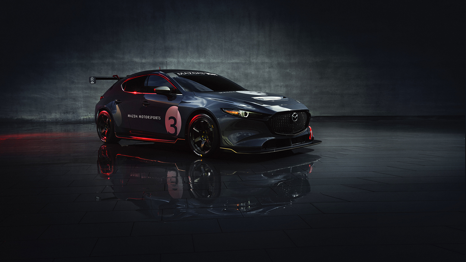 Picture Mazda Tuning 2020 Mazda3 Tcr Gray Cars Metallic 1920x1080
