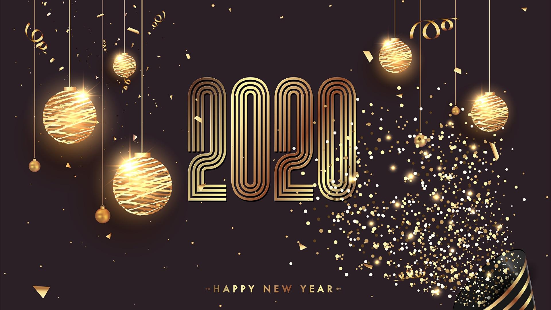 Image 2020 Christmas Balls 1920x1080