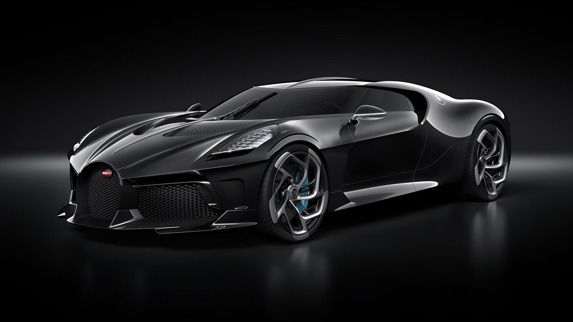 Fondos De Pantalla 1920x1080 Bugatti La Voiture Noire Negro