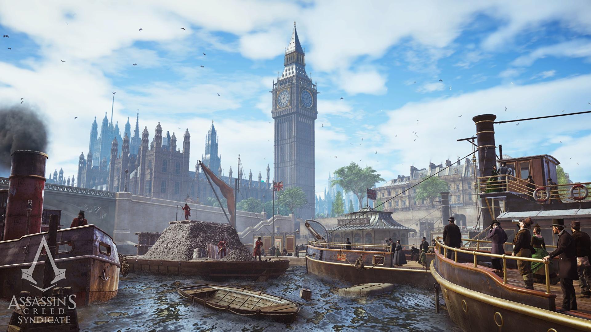 Photos Assassin S Creed Syndicate London Big Ben Games 1920x1080