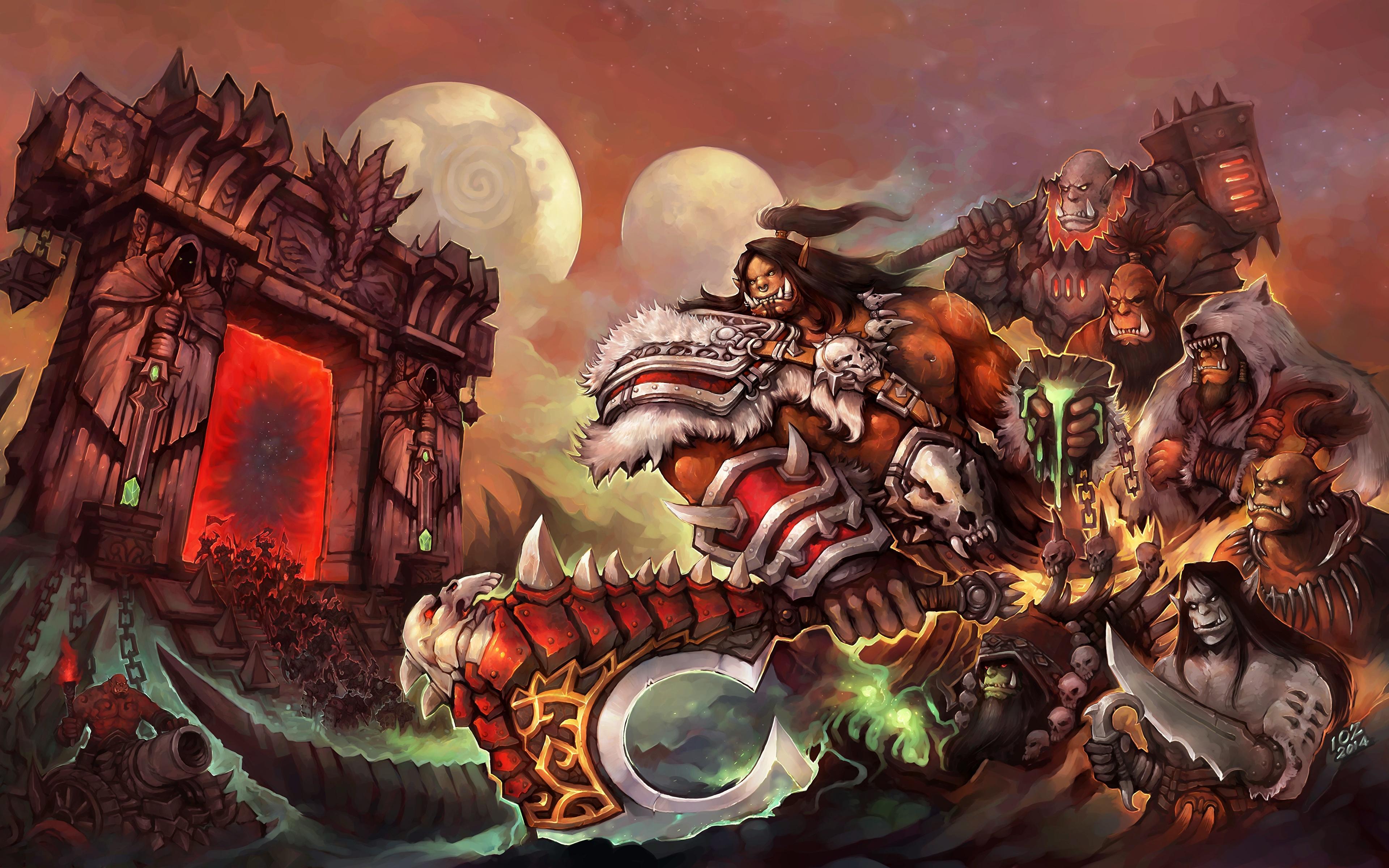 Fondos De Pantalla 3840x2400 World Of Warcraft Orco