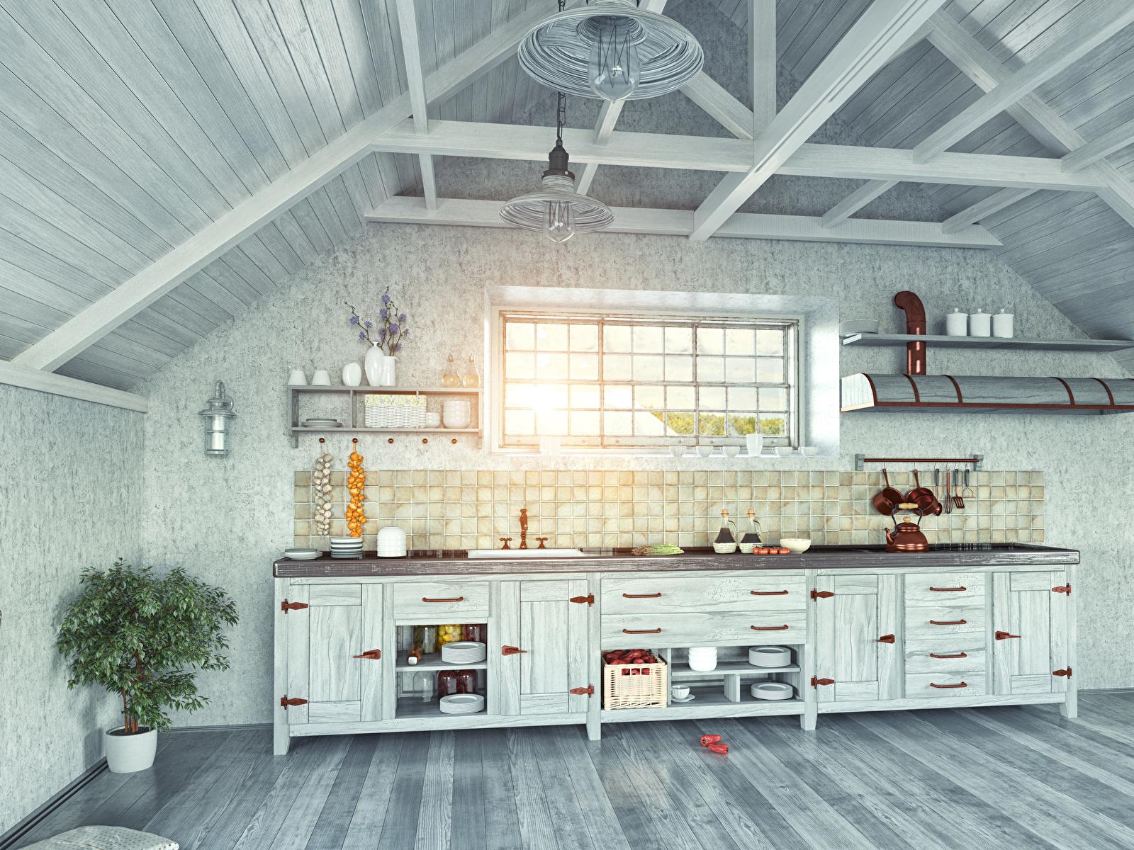 Fotos Küche Innenarchitektur Tisch Design 1600x1200