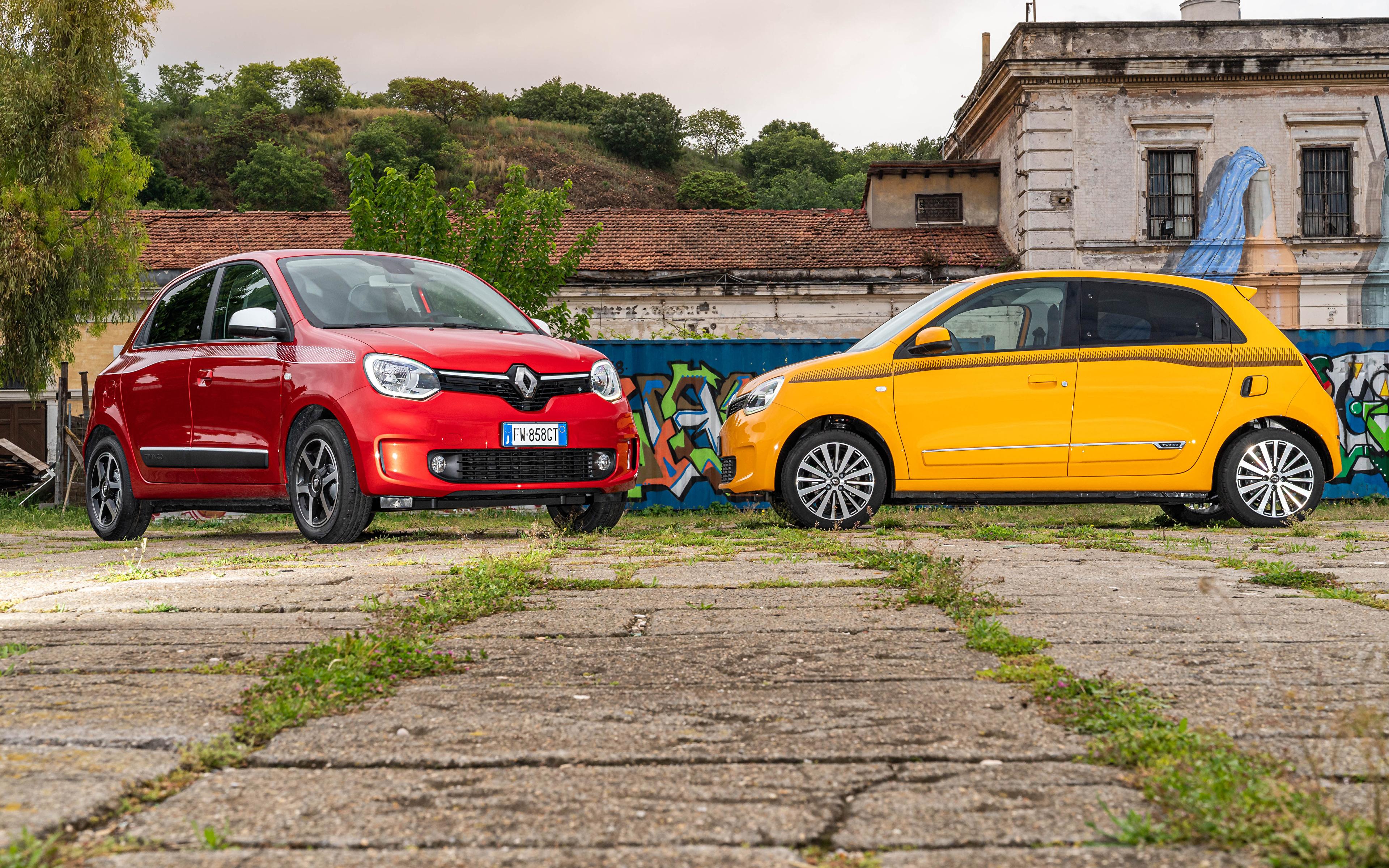 Photos Renault 2019-20 Twingo Worldwide Two auto 3840x2400 2 Cars automobile