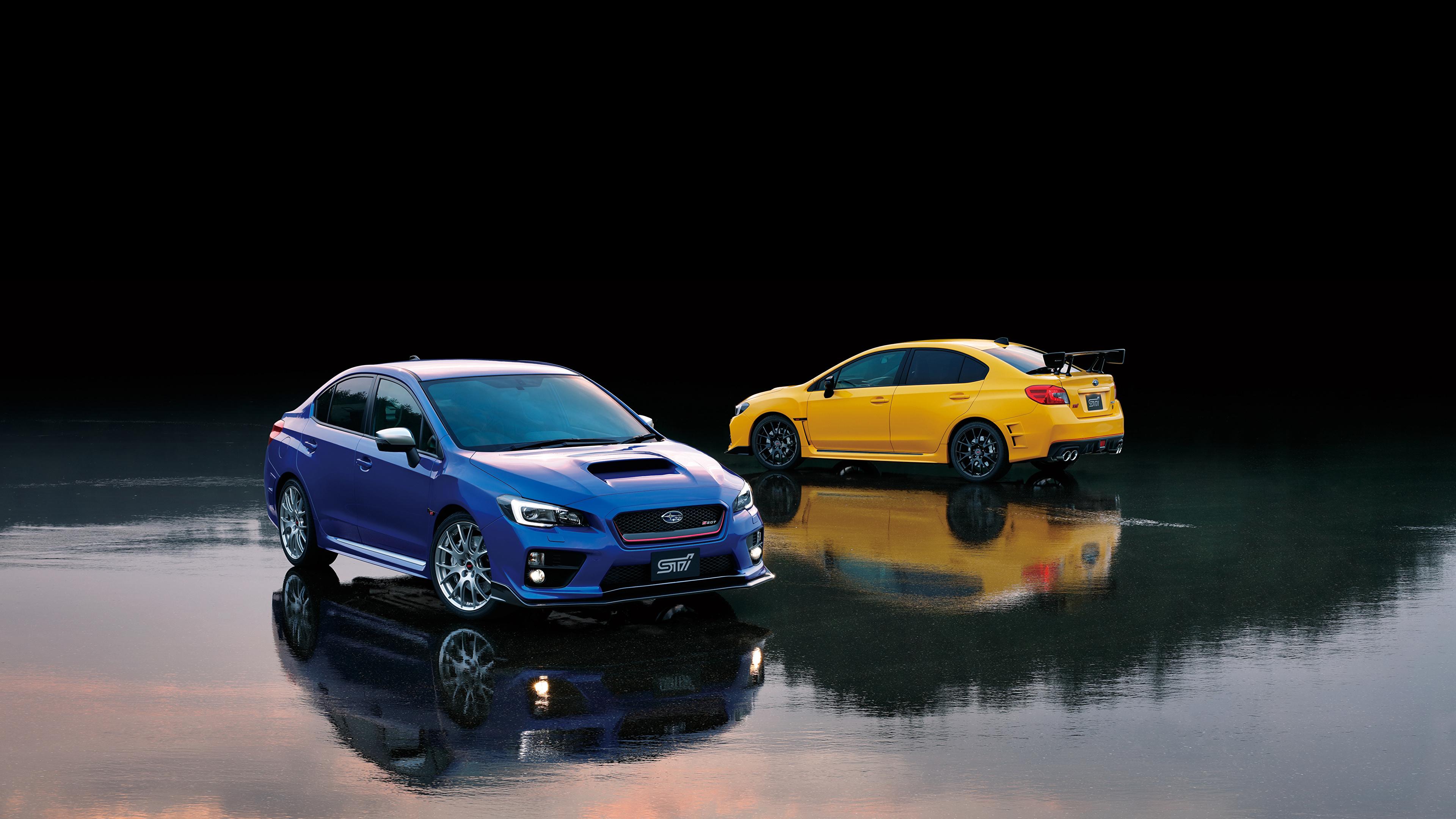 壁紙 3840x2160 スバル Wrx Sti 2 二つ 自動車 ダウンロード 写真