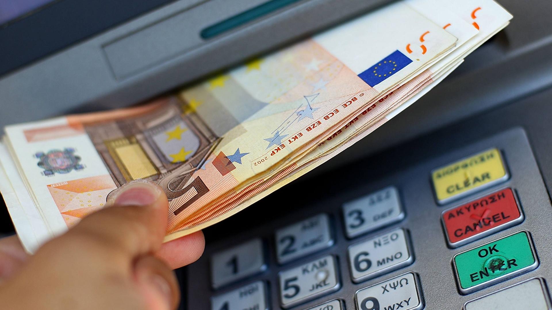 Afbeeldingen Euro biljetten 50 Geld Close-up 1920x1080