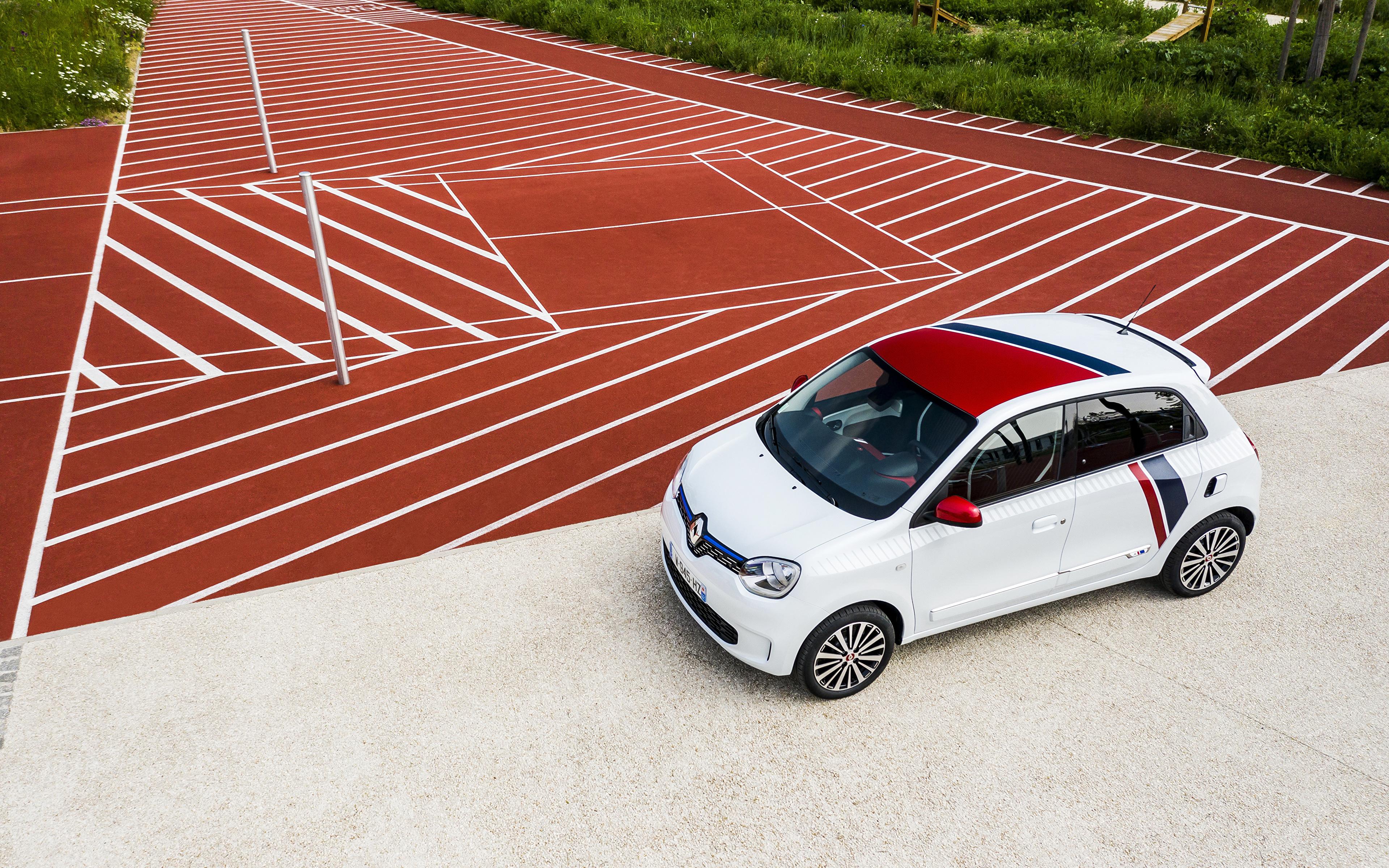 Photos Renault 2019 TWINGO Le Coq Sportif White automobile 3840x2400 Cars auto