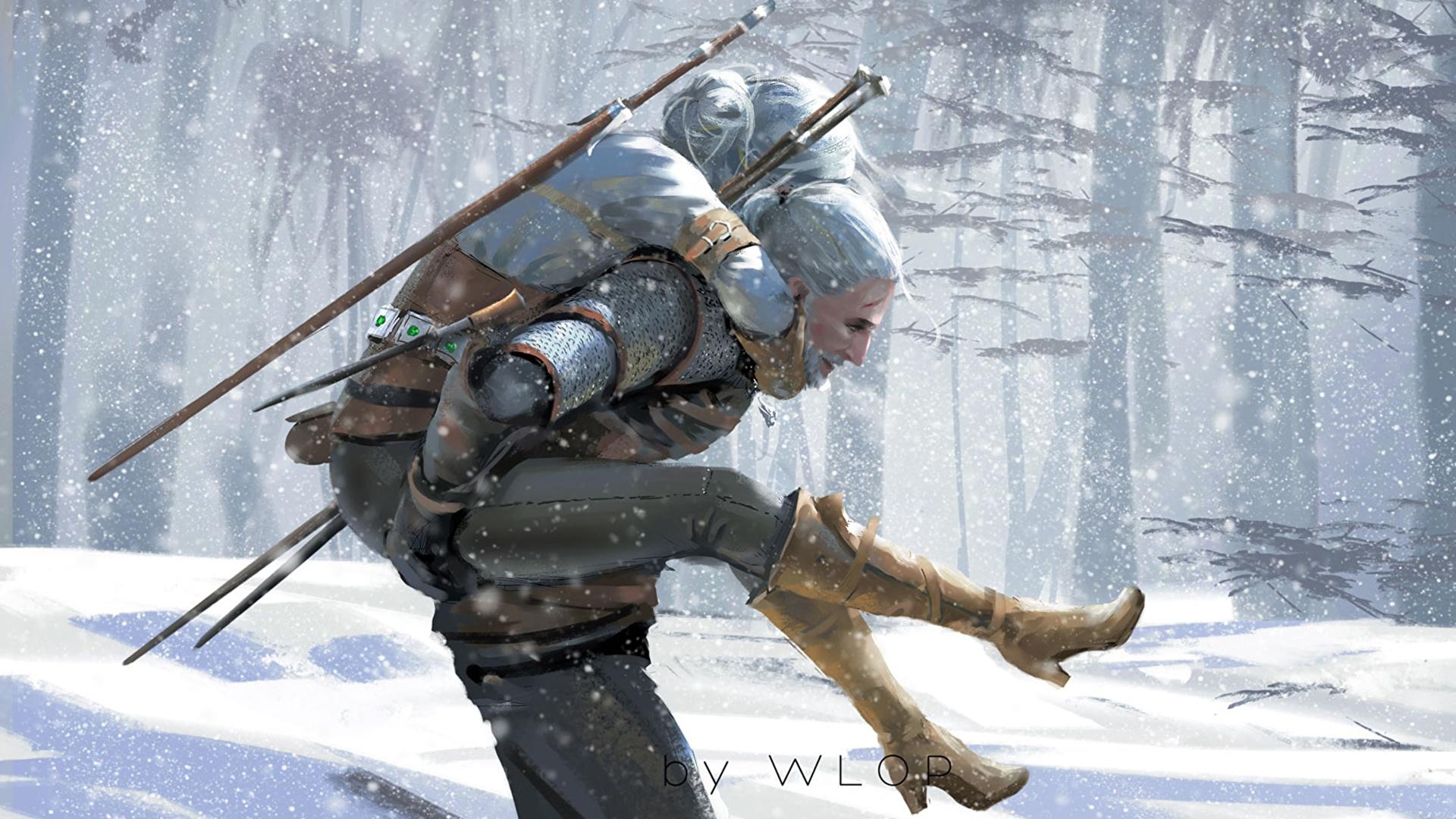 Photo The Witcher 3 Wild Hunt Geralt Of Rivia Warriors 1920x1080