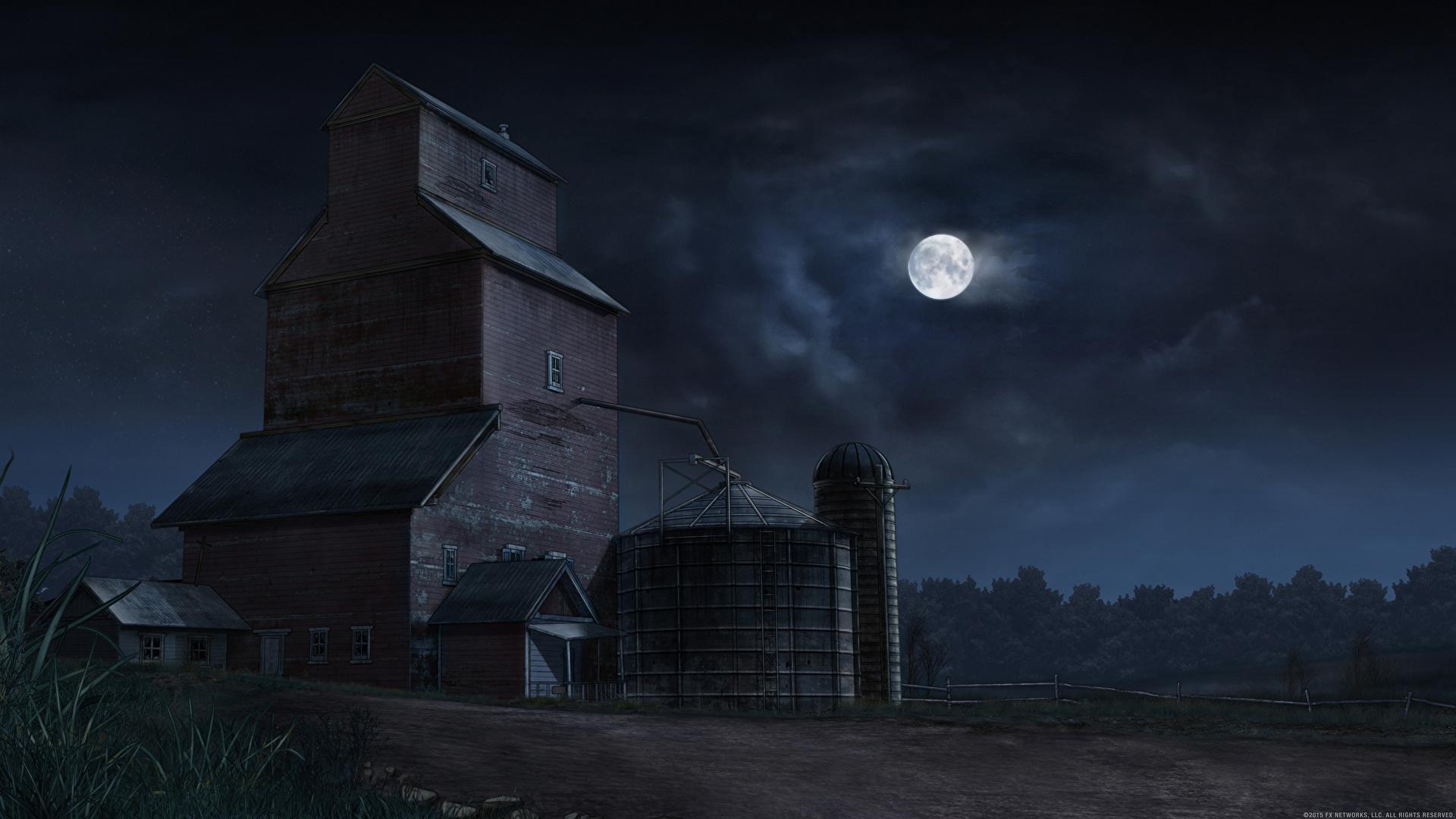 壁紙 19x1080 住宅 描かれた壁紙 夜 月 自然 ダウンロード 写真