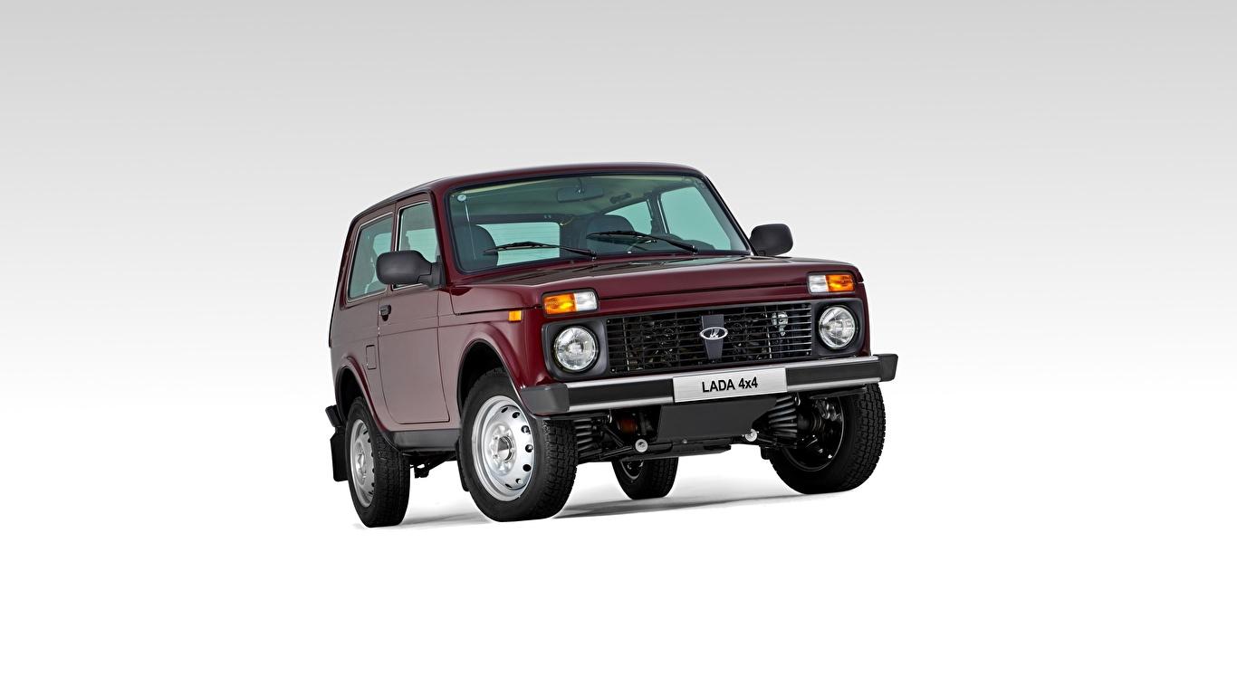 1366x768 Lada Carros russos Na frente Bordô SUV carro, automóvel, automóveis, vermelho escuro, Veículo utilitário esportivo Carros