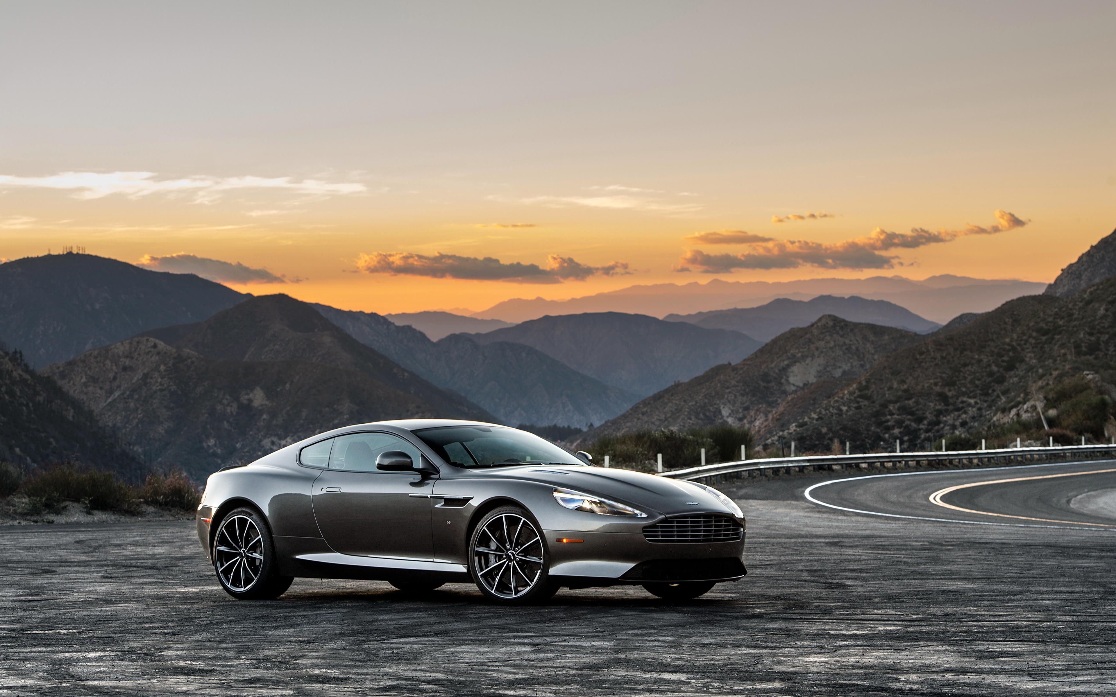 Images Aston Martin Db9 Gt Grey Auto 3840x2400