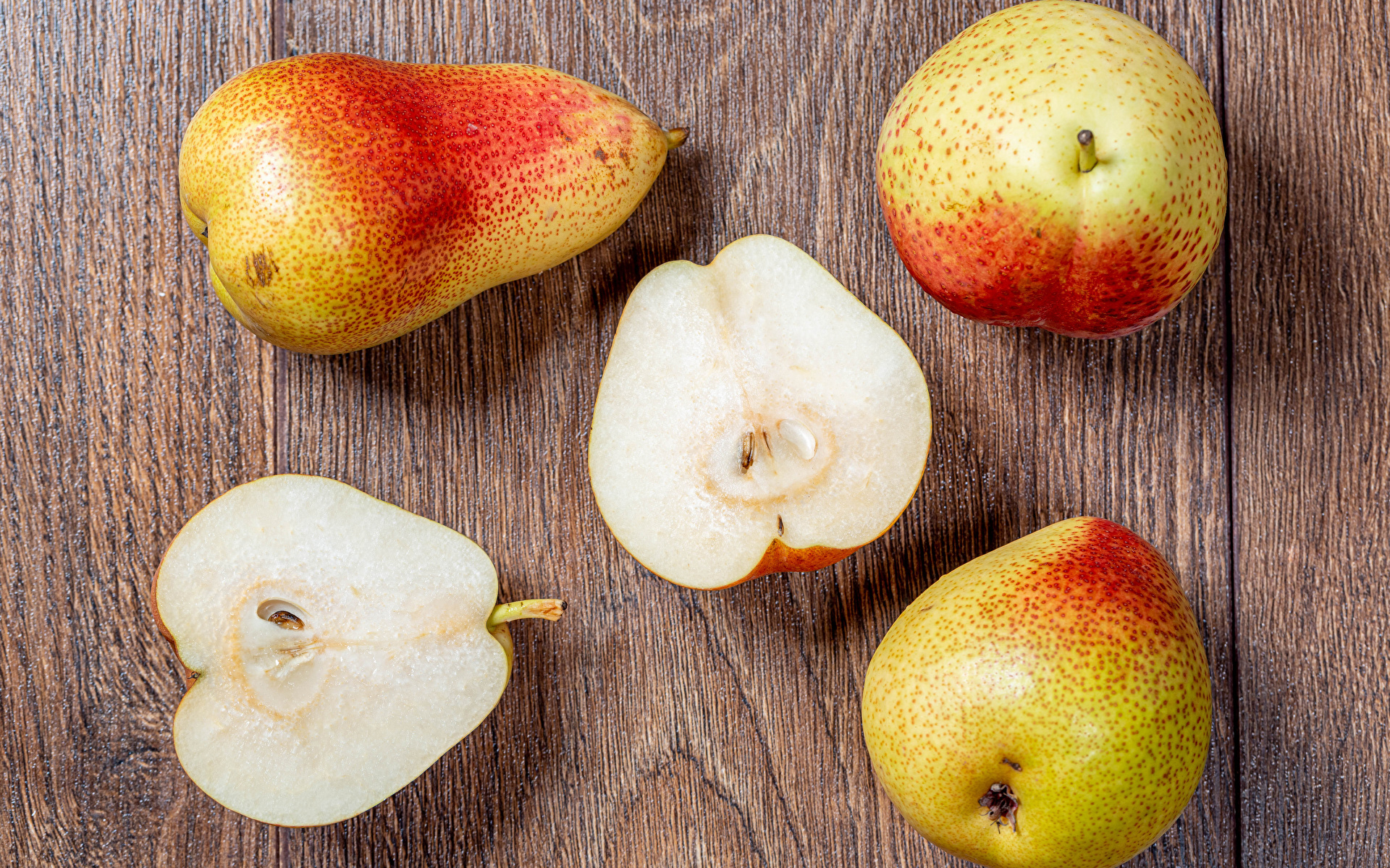 Picture Pears Food boards 1920x1200 Wood planks