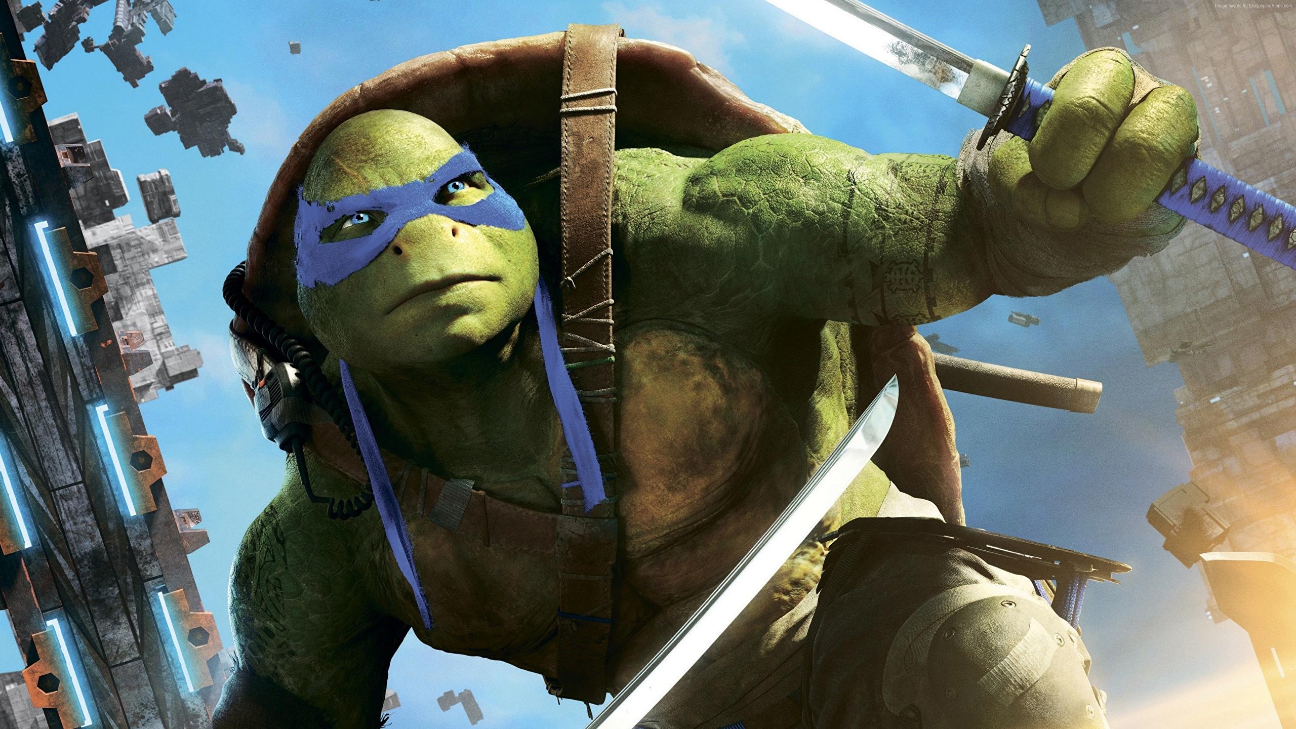 Wallpaper Teenage Mutant Ninja Turtles 2014 Warrior Movies 2560x1440