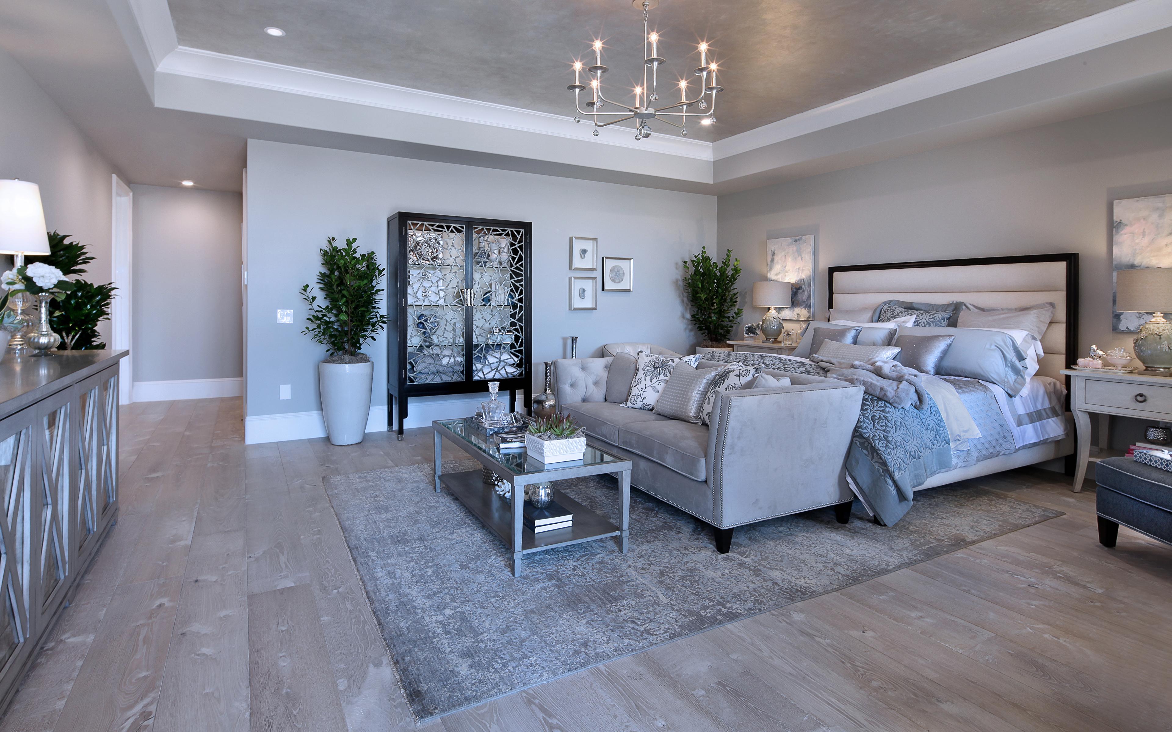 Bilder Schlafzimmer Innenarchitektur Bett Couch Teppich 3840x2400