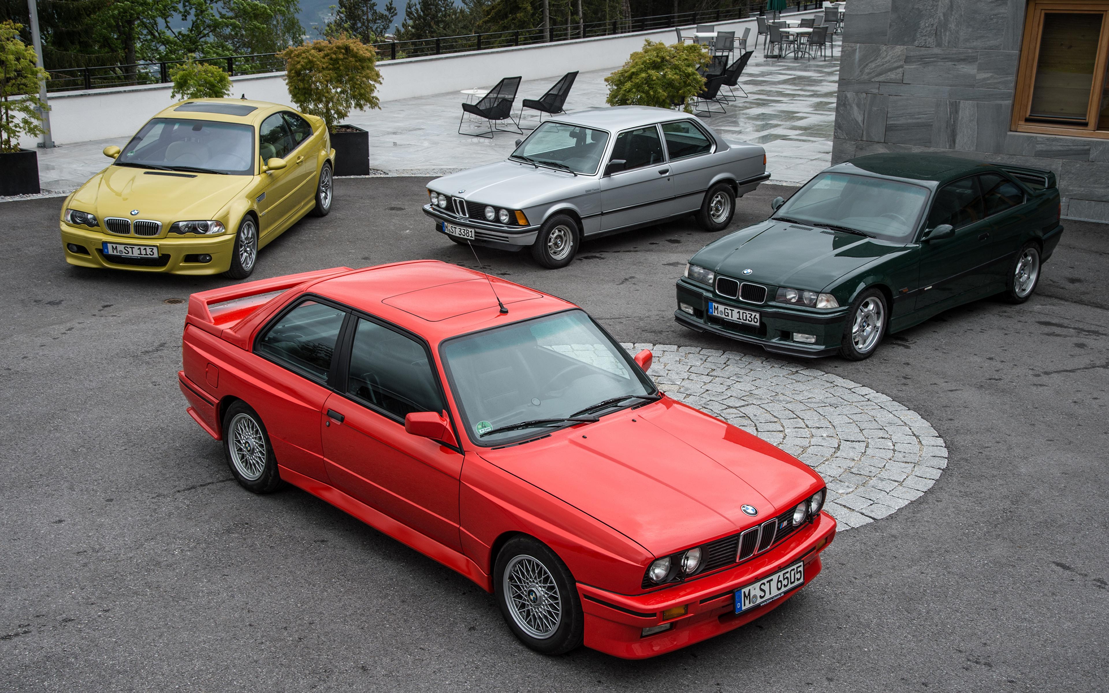 Desktop Wallpapers BMW 1975-2016 3 Series automobile 3840x2400 Cars auto